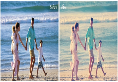 apply GREAT effects to enhance and touchup your most memorable photos