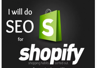 Do Complete SEO For Shopify Store
