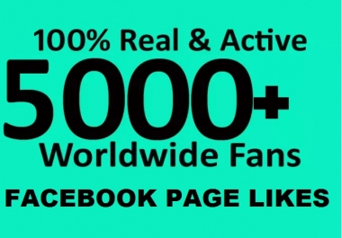 give 5000 Facebook fanpage likes free 1000 instagram and Twitter followers