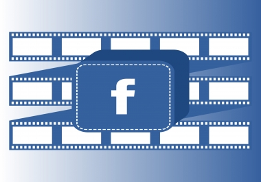 Provide you 3000 facebook video views