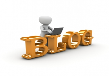 write 400 word blogs and articles for every month