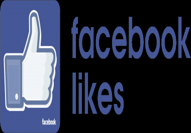 give 4000+ Facebook Post likes Non Drop in 24 Hours! -Great Service - Fast Delivery - High Quality - 100% SAFE