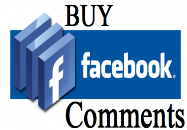 add 75+ Facebook custom positive comments in 24 Hours! -Great Service – Fast Delivery – High Quality – 100% SAFE