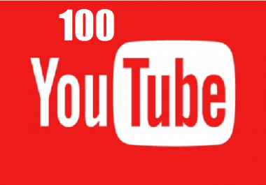 Provide 100 likes to your youtube video