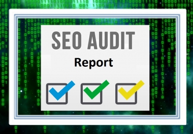 Provide Seo Audit Report 21 pages