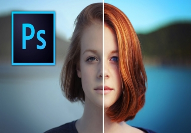 make any five proffesional photoshop graphics (1$/one)