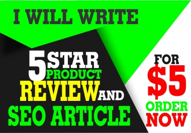write an impressive 500 words unique product review