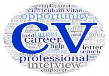edit, write or rewrite your resume, CV and cover letter