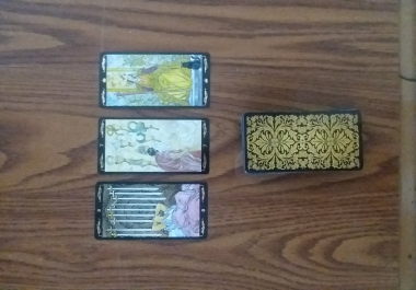 give you a 3 card tarot reading