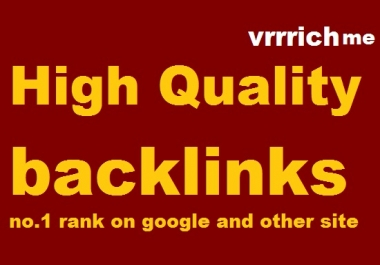build 3200 high quality backlinks/seo for website within 48 hours
