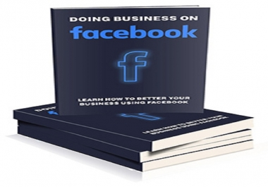 Give Course To doing Business On Facebook In Professional Way