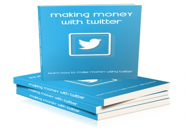 give you making money with twitter course