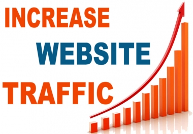 Give Unlimited TARGETED real human Website TRAFFIC for 6 months