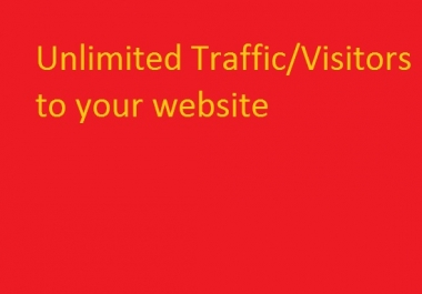 drive 2000 high quality traffic to your website