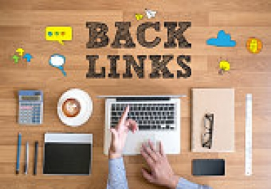 Create 132+ DOFOLLOW High PR1-PR7 or DA 30+ Highly Authorized Google Dominating BACKLINKS