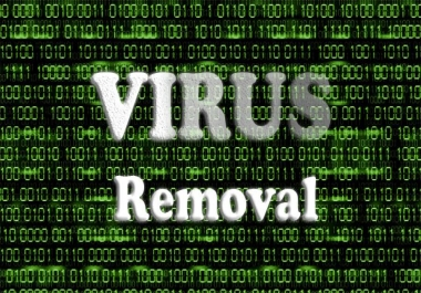 remotely remove viruses from computer