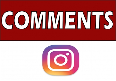 add 125 Instagram Custom Comments