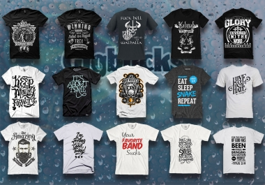 Create Amazing Typography T Shirt And Cool Tshirt Design