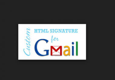 code Your HTML Email Signature