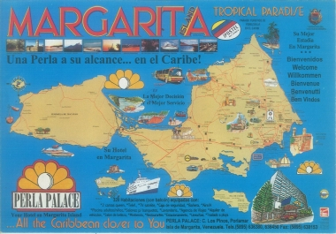 send you an exclusive unique postcard from Margarita Island