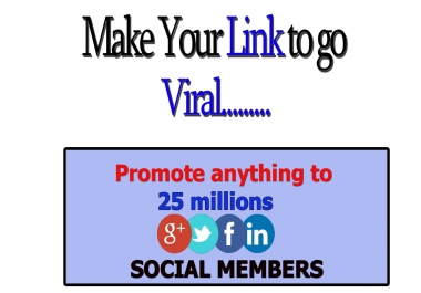 shoot anything to 25,000,000 Active and real social membes