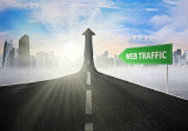 Drive 5000 keyword targeted google organic traffic