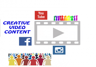 create 30 seconds video for your product or service