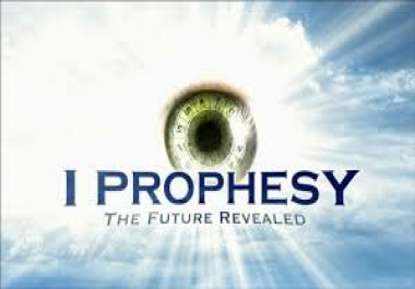 give you a prophecy for this year
