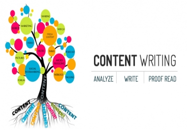 write content, reviews, articles for you