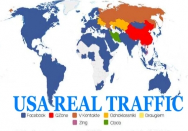 Provide Genuine 1000 USA Traffic Per Day For One Week