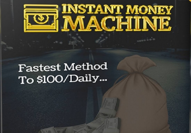 give instant money machine method of 100 dollar a day autopilot system