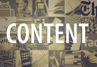 Be Your Blog Content Writer