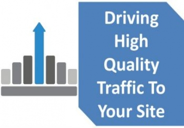 Give UNLIMITED genuine real Website TRAFFIC for 6 months