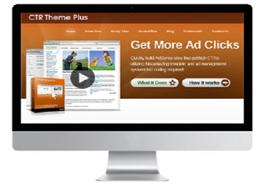 give you CTR Theme, which will helps you build Adsense sites in few minutes and earn 1000s of dollar a month