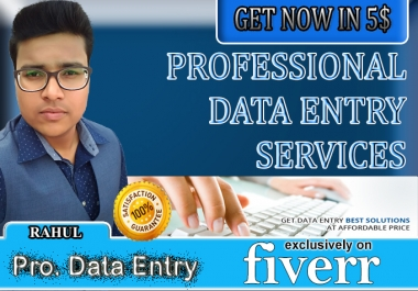 do data entry work in just 24 hours