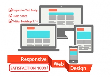 convert PSD to HTML5 responsive with js, jquery