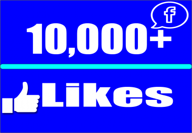 give 10,000 Facebook Fan Page LIKES Permanent