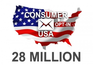 give you 1 Million USA Consumers e-mail list