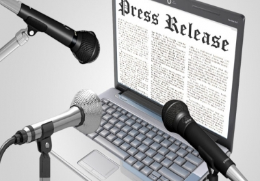 manually do Press Release distribution and syndication to 20 plus high PR sites