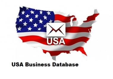 give you 1 Million USA Businesses e-mail list B2B