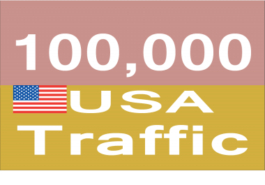 Add you 100,000+ USA TARGETED Human Traffic to your Website