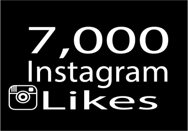 Give 7,000 instagram photo likes