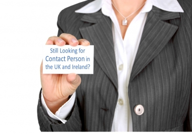 represent you and be your contact person in the UK and Ireland