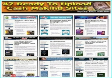 provide you with 47 of the hottest Click Bank Sites