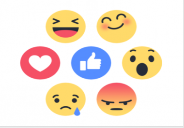 Provide you 2000 Facebook Emoticons Photo/Post Likes