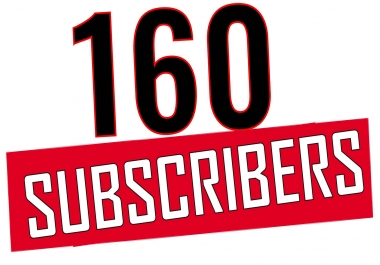 Add 120 YouTube Subscriber 1-12 hours delivery