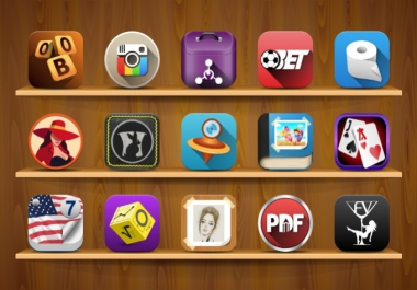 do professional APP icon in 1day