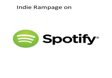 add one song to Indie Rampage(pop/rock) playlist