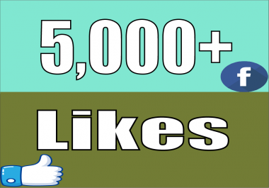 give 5,000+ Facebook Fan Page LIKES Permanent