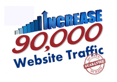 DRIVE 90,000+ TARGETED Human Traffic to your Website